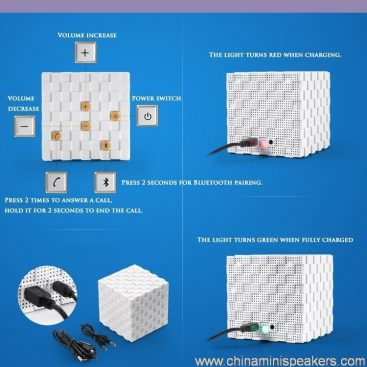 Bluetooth magic cube speakers 2