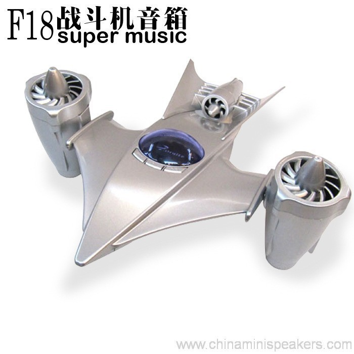 TF Card Aircraft shape mini speaker 4