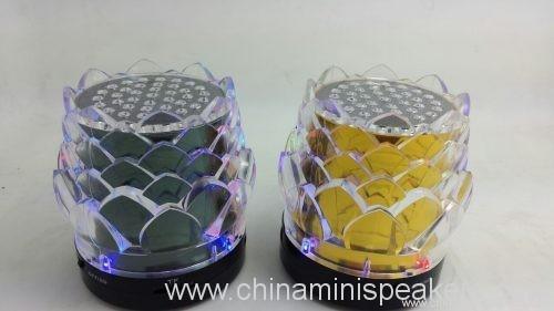 7 color flower tf card speaker 2