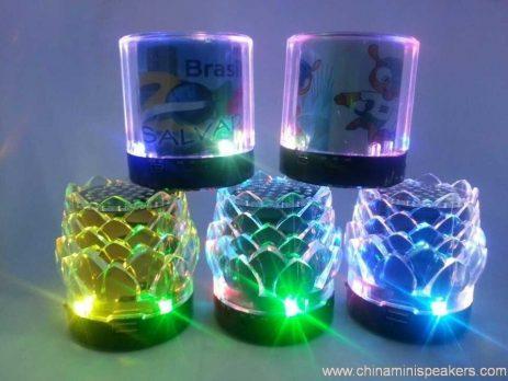 7 color flower tf card speaker 3