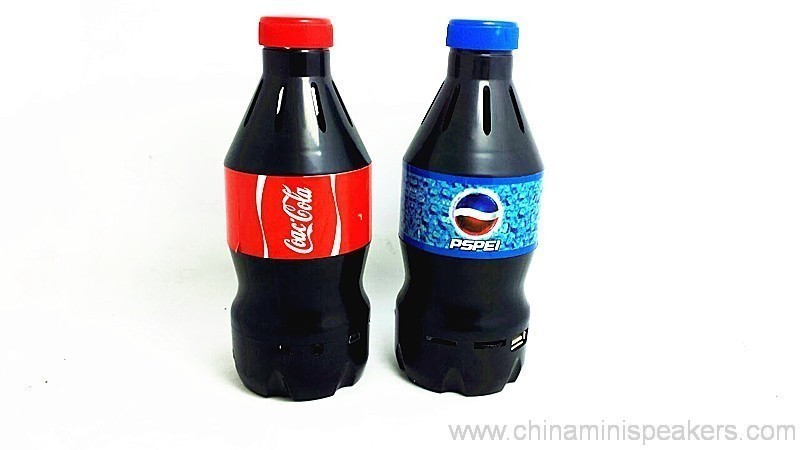 Cola Bottle Shape Digital speakers