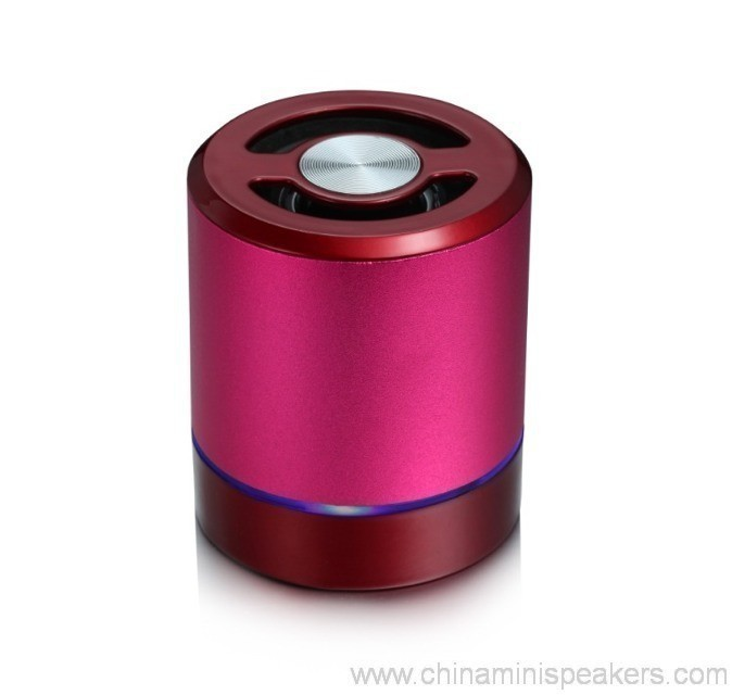 Aluminum Shell Mini Bluetooth tf card Speaker 2