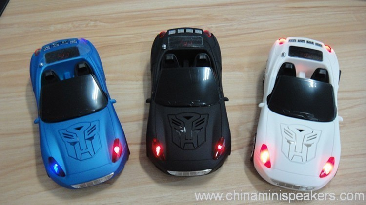 Aston Martin shape car digital speaker 2