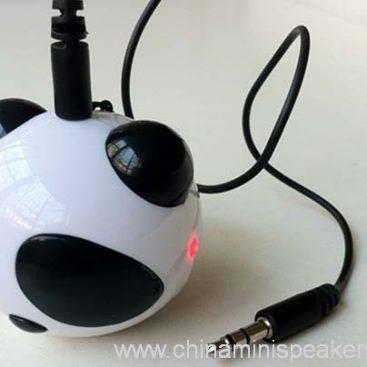 Computer Panda Shape USB Mini Speaker 2