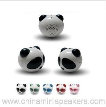 Computer Panda Shape USB Mini Speaker
