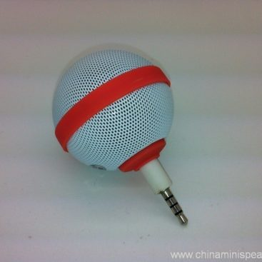 Ball Style Mini Mobile Phone Speaker for iPhone / iPod / iPad 2