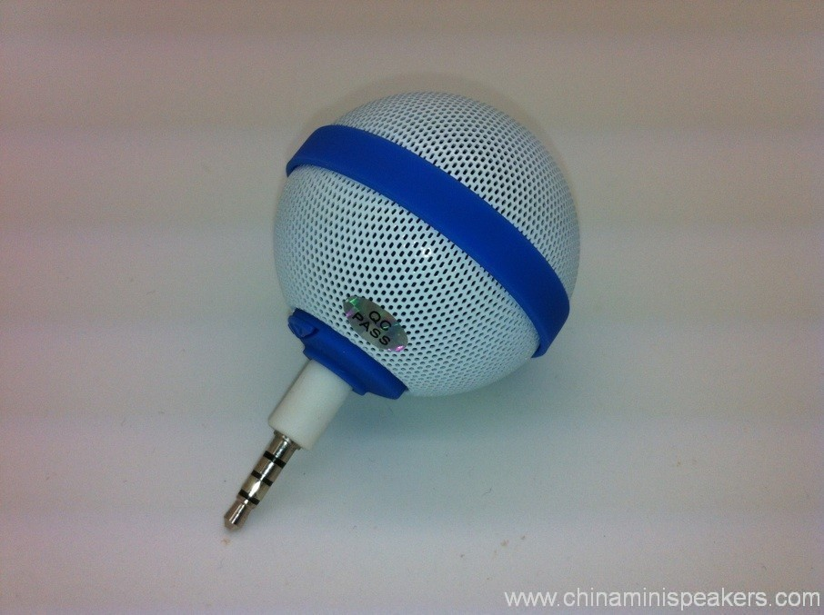 Ball Style Mini Mobile Phone Speaker for iPhone / iPod / iPad 3
