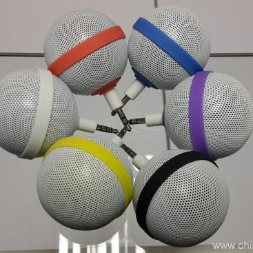 Ball Style Mini Mobile Phone Speaker for iPhone / iPod / iPad 6