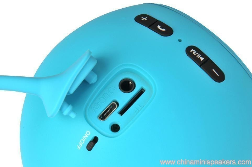 Fashionable Bluetooth Mini Speaker With Compatible Usb/Fm 11