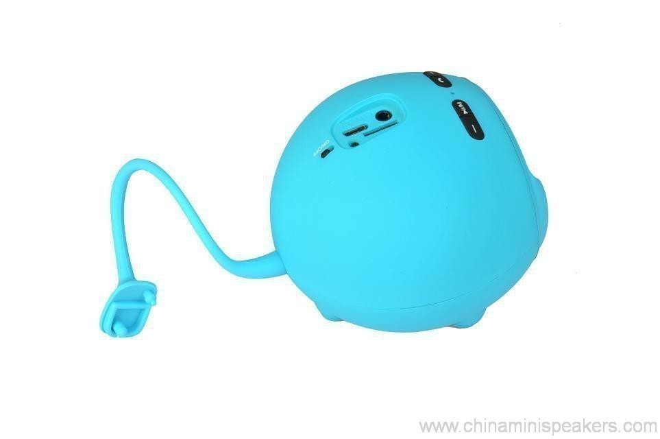 Fashionable Bluetooth Mini Speaker With Compatible Usb/Fm 12