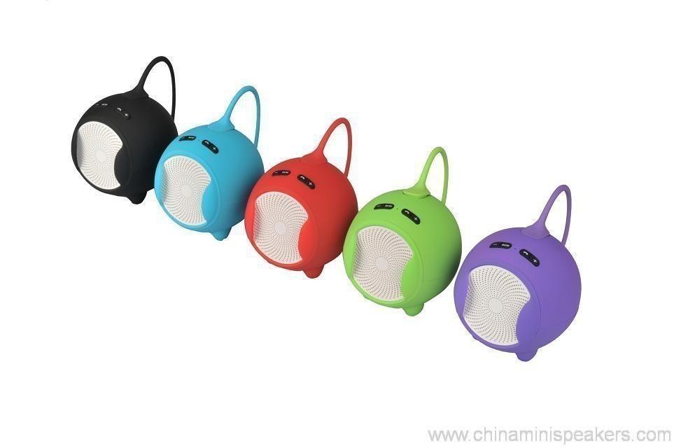 Fashionable Bluetooth Mini Speaker With Compatible Usb/Fm