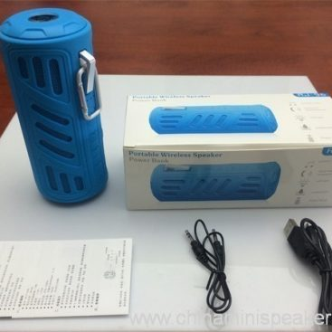 10w Super bass portable waterproof bluetooth speaker with 4400mAh powerbank 4