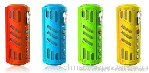 10w Super bass portable waterproof bluetooth speaker with 4400mAh powerbank