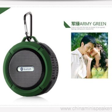 Carabiner outdoor portable waterproof bluetooth speaker 2