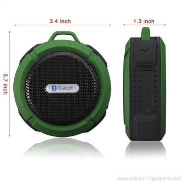 Carabiner outdoor portable waterproof bluetooth speaker 4