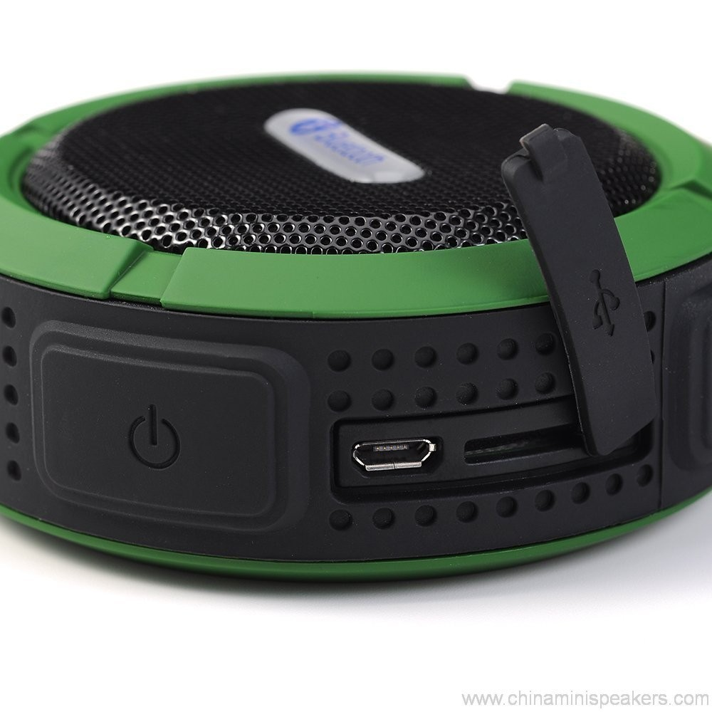 Carabiner outdoor portable waterproof bluetooth speaker 8