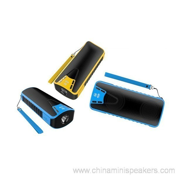 10w Bluetooth Speaker With Power Bank 4000mah 2