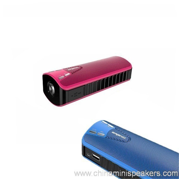10w Bluetooth Speaker With Power Bank 4000mah 3