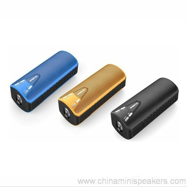 10w Bluetooth Speaker With Power Bank 4000mah 4
