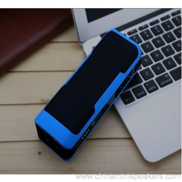 10w Bluetooth Speaker With Power Bank 4000mah 6