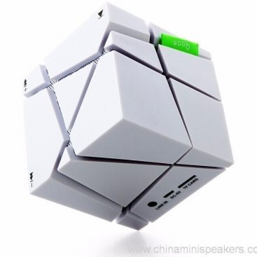 Cube super bass mini bluetooth speaker with fm radio 6