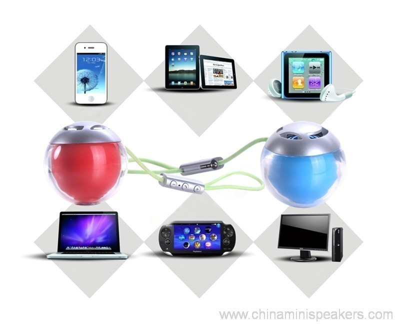 Colorful Bluetooth Speaker Mini Size Wireless BT Speakers with handsfree function 3