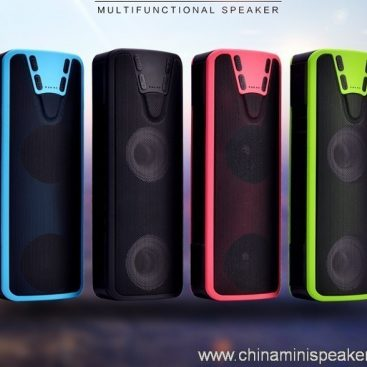Handsfree function support TF card built-in 4000mah li-ion battery bluetooth speaker 7