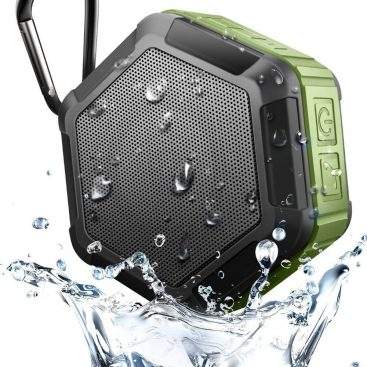 Hexagon shape Small Waterproof Wireless bluetooth speaker With Hook 8