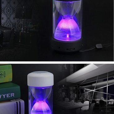 Wireless mini digital sandglass bluetooth speaker 2