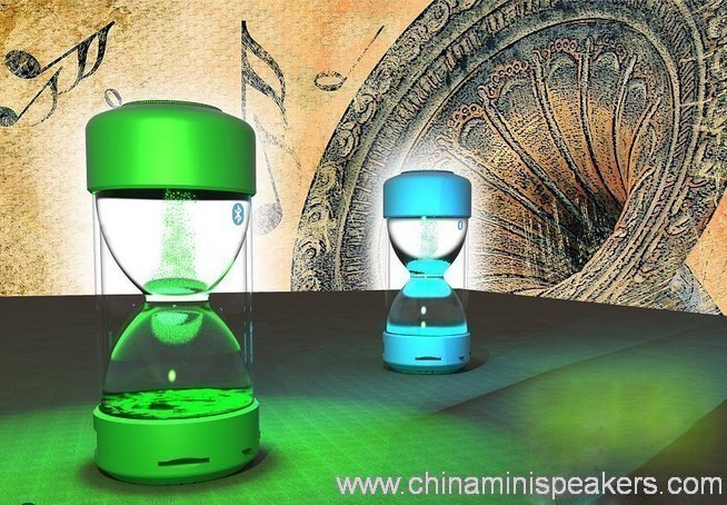 Wireless mini digital sandglass bluetooth speaker 3