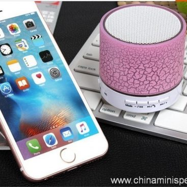 Wireless mini speaker with LED light 3