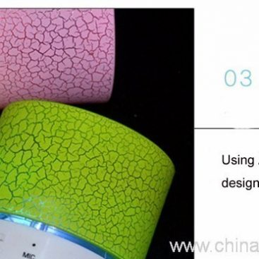 Wireless mini speaker with LED light 5