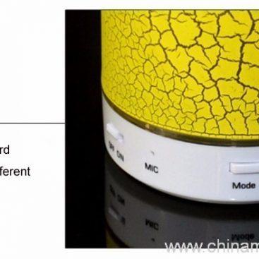 Wireless mini speaker with LED light 6