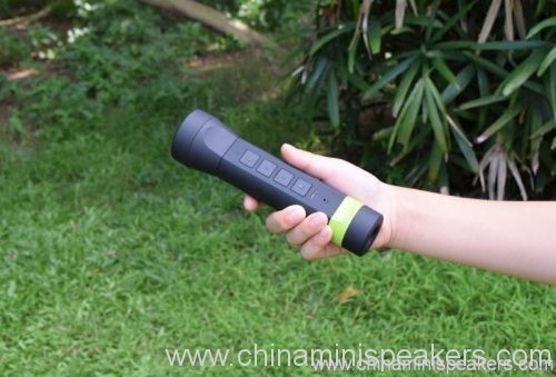 4 in 1 multi-function outdoor torch power bank bluetooth speaker 4