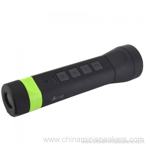 4 in 1 multi-function outdoor torch power bank bluetooth speaker 6