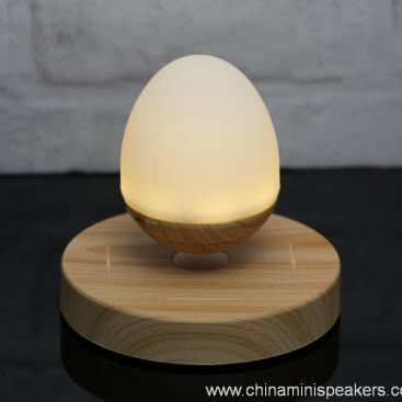 LED light bulb levitating bluetooth speaker 5