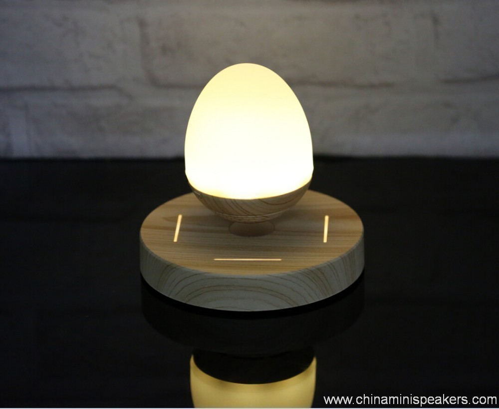 LED light bulb levitating bluetooth speaker 6
