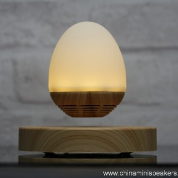 LED light bulb levitating bluetooth speaker 7