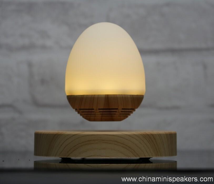 LED light bulb levitating bluetooth speaker 7