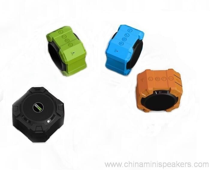 Dustproof shockproof and waterproof wireless bluetooth subwoofer speaker 3
