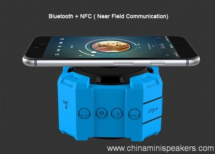 Dustproof shockproof and waterproof wireless bluetooth subwoofer speaker 5