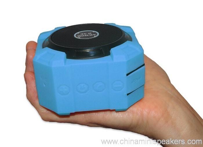 Dustproof shockproof and waterproof wireless bluetooth subwoofer speaker 6