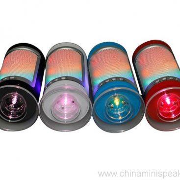 3 Watt Wirless Portable Bluetooth DSP Speaker with Dazzle LED Light 2