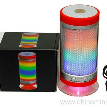 3 Watt Wirless Portable Bluetooth DSP Speaker with Dazzle LED Light 6