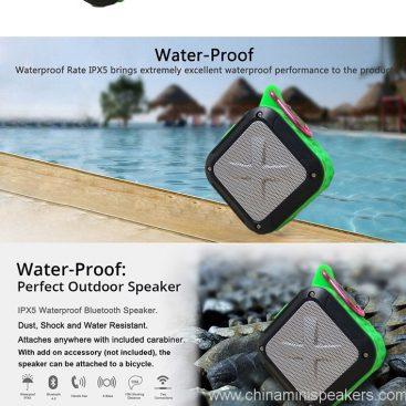 3D Sound Military Grade Waterproof Portable Bluetooth 4.0 Speakers 3