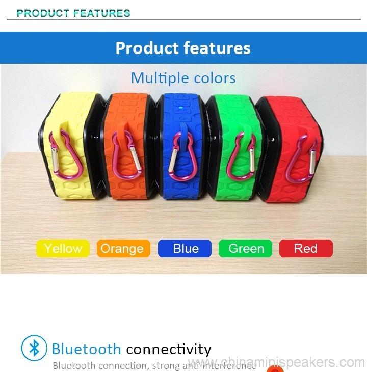 3D Sound Military Grade Waterproof Portable Bluetooth 4.0 Speakers 4