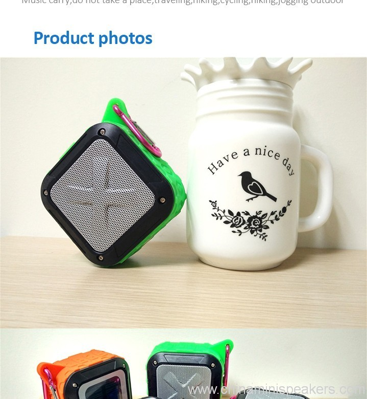 3D Sound Military Grade Waterproof Portable Bluetooth 4.0 Speakers 5