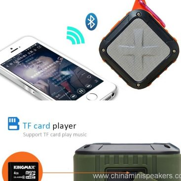 3D Sound Military Grade Waterproof Portable Bluetooth 4.0 Speakers 6