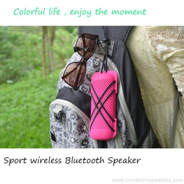 Colorful mini Outdoor bluetooth wireless Speakers 3