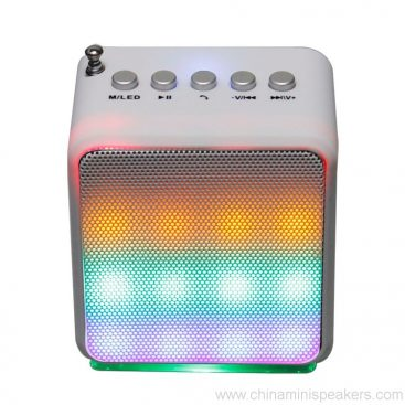Portable Audio Subwoofer Bluetooth Speaker With LED Lighting Stereo Amplifier 2